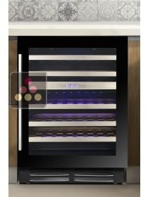 Dual temperature built-in wine service or conservation cabinet - 78cm Door LE CHAI