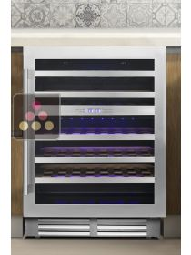 Dual temperature built in wine service or conservation cabinet - 78cm door LE CHAI