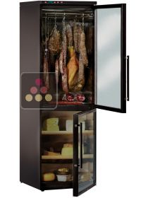 Combination of cold meat & cheese cabinets for up to 100kg - Left Hinged - Showroom display model CALICE