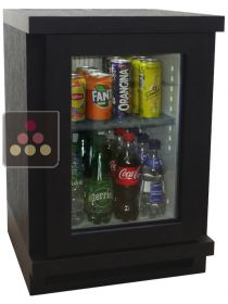 Silent 40L-minibar with customized wood coating WINEBAR