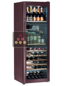 3-Temperature Wine cabinet for service and/or storage