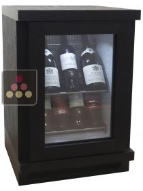 Silent mini-winebar with customized wood coating for 8 bottles WINEBAR