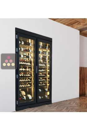 Built In Single Temperature Wine Cabinet Ma Cave A Vin Aci Spe118 My Wine Cabinet