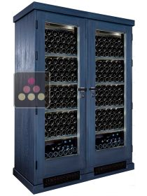 Secure 2 temperatures wine storage and service cabinet Ma Cave à Vin