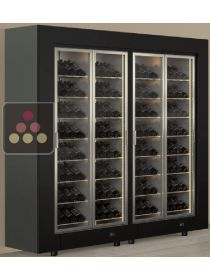 Combination of two freestanding multipurpose wine cabinets CALICE DESIGN