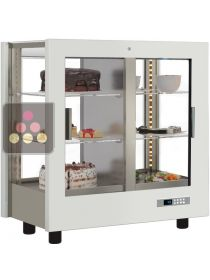 4-sided refrigerated display cabinet for desserts CALICE DESIGN