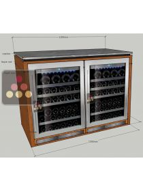 Single temperature wine cabinet - for boat  Ma Cave à Vin