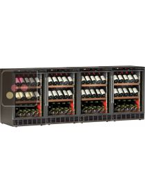 4 Built-in single temperature wine cabinet for wine storage or service CALICE