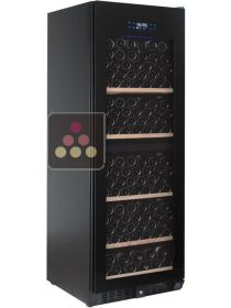 Single temperature wine cabinet for storage or service - Full Glass Door TEMPTECH