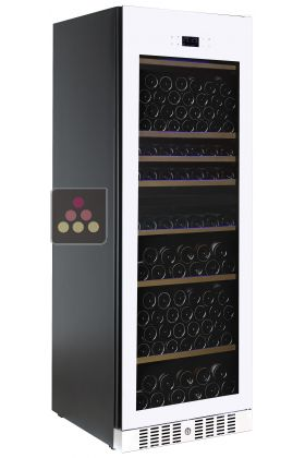Dual temperature wine cabinet for service and/or storage - Full Glass Door