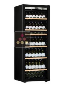 Single temperature wine ageing or service cabinet - Full Glass door TRANSTHERM