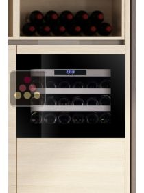 Single temperature built in wine service cabinet self-ventilated LE CHAI