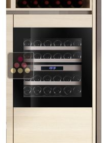 Dual temperature built in wine cabinet for service self-ventilated LE CHAI