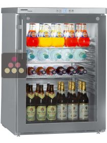 Built-in fridge with glass door - 141L LIEBHERR