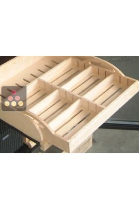 Wooden removable tray for Calice cigar humidor