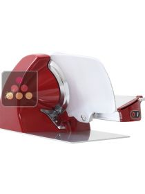 Electric slicer for home use - Blade diameter 250 mm - Red BERKEL