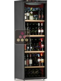 Dual temperature wine cabinet for service and/or storage CALICE