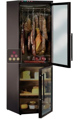 Combination of cold meat & cheese cabinets for up to 100kg