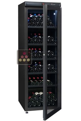 Single temperature wine ageing or service cabinet