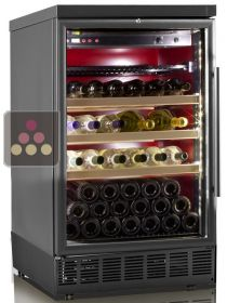 Built-in two temperature wine cabinet for service CALICE