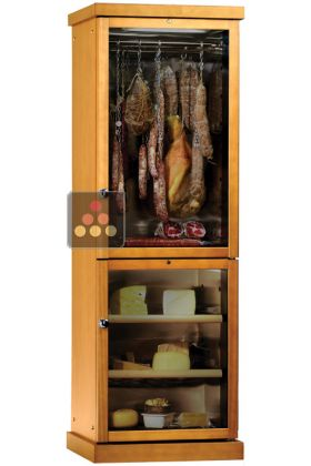 Combination of delicatessen & cheese cabinets for up to 100kg