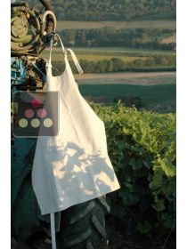 Thick white canvas apron L'ATELIER du VIN