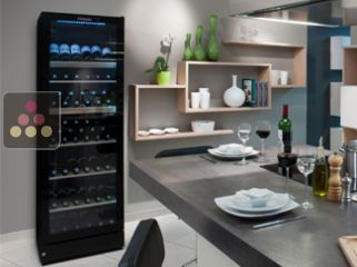 Multi Temperature wine cabinet for service or Single-Temperature for storage