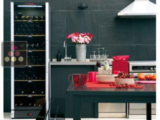 Multi-Temperature service wine cabinet or Single-temperature storage wine cabinet + 3 bottles of champagne for free