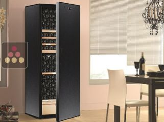 Multi-Purpose wine cabinet for aging & chilled wine service