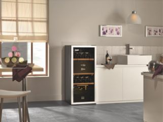 Multi-Temperature wine cabinet for service