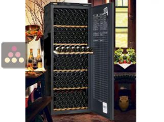 Single-temperature wine ageing cabinet