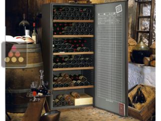 Multi-Temperature wine cabinet for storage & service