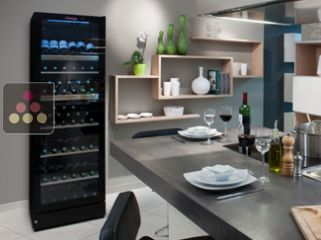 Multi-Temp service wine cabinet or Single-temp storage wine cabinet