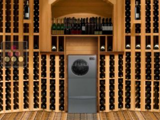 Air conditioner for natural wine cellar up to 50m3 - built-in