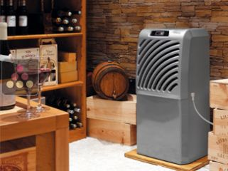 Air conditioner for natural wine cellar up to 100m3 - with 4.5m hose