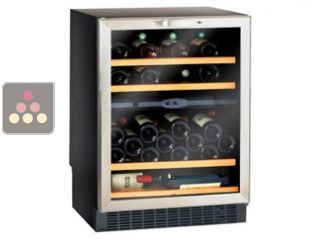 CLIMADIFF wine cabinet for storage and service of wine with 2 temperatures - can be built in