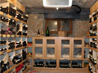 Air conditioner for natural wine cellar up to 25m3 - with humidity management