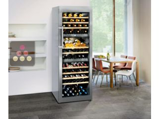 LIEBHERR dual temperature wine cabinet for storage and/or service