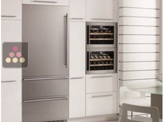 LIEBHERR single-temperature wine cabinet for storage or service - can be fitted